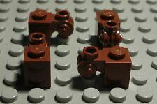 1034 Lego Stein Kegel 1x1 new Braun 8 Stück