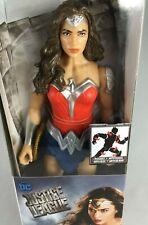 "Dc Justice League Wonder Woman Metallic Armor Action Figure 12"" Gal Gadot New"