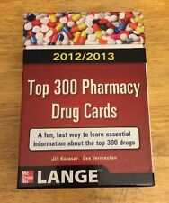 Top 300 Pharmacy Drug Cards 2012-2013 by Jill M. Kolesar and Lee Vermeulen (201…
