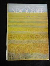 Vintage New Yorker Magazine September 16 1967 - Ilonka Karasz cover art