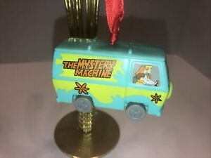 Custom Scooby Doo Shaggy Velma Daphne Mystery Machine Christmas Ornament Van Bus