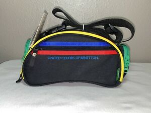 United Colors Of Benetton 7231 Giotto Convertible Padded Camera Bag Belt Bag NEW
