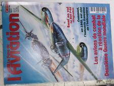 16µ?  Revue Fana Aviation n°323 Guerre des 2 soleils / SE-3100 / Bell P-63 Me262