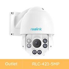Reolink PTZ Security Camera Outdoor 5MP Pan Tilt 4X Optical Zoom Refurbished 423