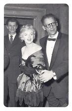 Nostalgia Postcard Marilyn Monroe & Arthur Miller 1956 Reproduction Card NS55