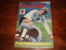 FRANCE FOOTBALL MAGAZINE       JUNE 1980       'SPECIALE EURO ITALIA 80'