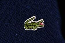 Chemise Lacoste V Neck Vintage Cardigan Jumper Size L / 5