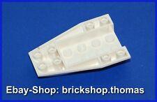 Lego Cockpit Unterteil Keilstein 6x4x1 weiß - 43713 - Wedge White - NEU / NEW