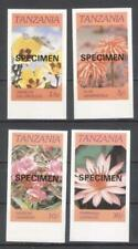 Tanzania flowers SPECIMEN MNH