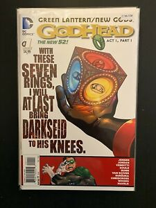 Godhead 1 High Grade DC Comic Book CL96-158