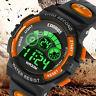 Waterproof Kids Digital Electronic Watch Children Boys Girls Sports LED Watches