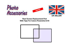 Rear Screen Replacement Part with Tape For Canon Powershot G10