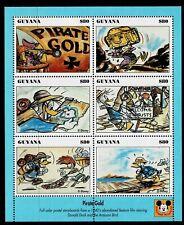 GUYANA - 1994 DONALD DUCK MOVIE POSTERS - UHM - Sc#2772 - DIS 38