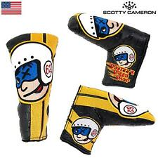 Scotty Cameron Johnny Racer Black - Blade Type Putter Cover
