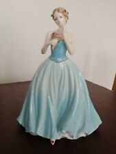 More details for coalport – dearest rose – beautiful limited edition bone china figurine