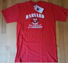 New HARVARD shirt M Champion brand red NWT Boston University athletic tshirt