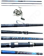 Kit Surfcasting Canna Great Sea + Mulinello Domino 5000 Pesca Mare Spiaggia