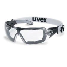 Uvex Sicherheitsbügelbrille pheos guard schwarz/grau