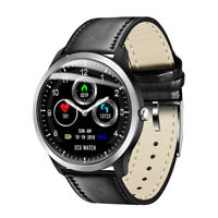 ECG Smart Watch Bluetooth Heart Rate Monitor Waterproof Bracelet for iOS Android
