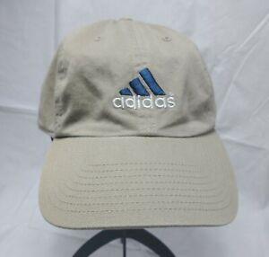 ADIDAS Men's Hat Cap Climalite Cotton Baseball Cap Khaki Beige Adjustable