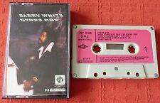 BARRY WHITE - RARE UK CASSETTE TAPE - STONE GON - ON PYE WITH PAPER LABELS