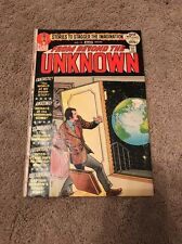 From Beyond The Unknown Stories To Stager The Imagination Dc Comics March No 15