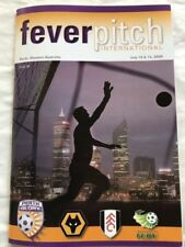 Perth Glory Soccer Memorabilia Programmes