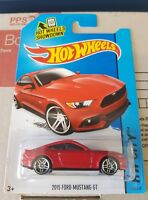 Hotwheels 2015 - '15 Ford Mustang GT [RED] NEAR MINT VHTF *12 CARS POSTED $10*
