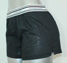 NEW Angel Victoria's Secret Boxer Sleep Pajamas Short NWT Sz XSmall Black