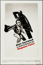 MAGNUM FORCE original film / movie poster - Clint Eastwood