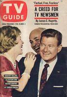 1961 TV Guide February 25 - Barbara Billingsley - Leave it to Beaver; Tall Man