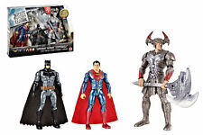 BATMAN + SUPERMAN + STEPPENWOLF - confezione 3 Action Figure JUSTICE LEAGUE