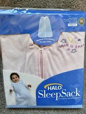 Halo Sleep Sack Wearable Blanket- Pink - Medium 6-12 Months