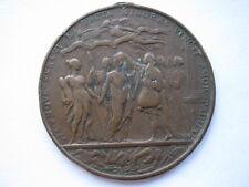 1753 Irish surplus revenue dispute medal, 44mm. Eimer 641.