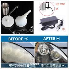 Car Headlight Lens Repair/Restoration Polishing Tool Atomization Cup+Adapter EU