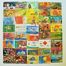 CYPRUS LOT OF 40 PHONE CARDS CYTA TELECARDS 1989-2004 RARE 1 SEALED COLLECTABLE