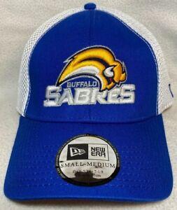 NWT Buffalo Sabres NHL Hockey New Era 39thirty 3930 Throwback Cap Hat Size S/M