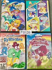 Care Bears 7 Dvd Lot Collection Wholesale Bulk Buy! Great DVDs For Kids!