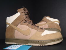 2005 Nike SB Dunk High NL NO-LINER NET WHEAT BROWN GREEN CURRY KHAKI BONE NEW 9