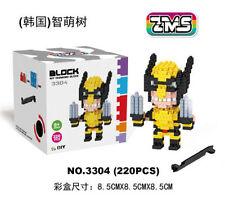 ZMS Wolverine Nano Block Diamond Mini Building Block Toys children's early learn