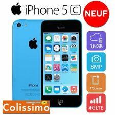 Neuf Apple iPhone 5c 16go 16GB Smartphone DÉBLOQUÉ Téléphones Mobile  - Bleu FR