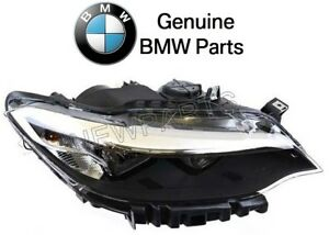 For BMW F22 F23 2-Series Passenger Right Headlight Assembly Halogen Genuine