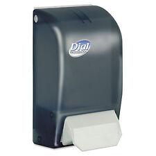 Dial Professional Foaming Hand Soap Dispenser 1000mL 5 x 4 1/2 x 9 Smoke 06055