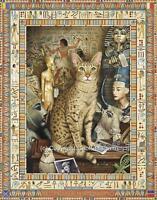 Gatto Conundrum Ogni Occasione Cartolina D'Auguri Nota Carta Gattino Gato Kat
