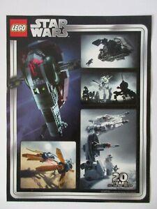 LEGO Star Wars VIP Promo (5005888) 20TH ANNIVERSARY POSTER ART PRINT