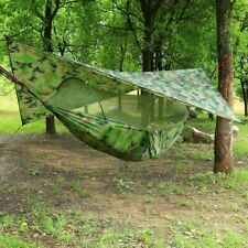 Quick Open Mosquito Net Hammock Tent With Waterproof Canopy Awning Set Hammock P