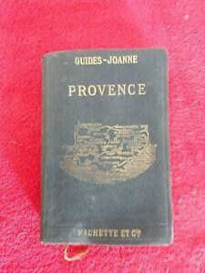 GUIDE JOANNE PROVENCE 1914/cartes et plans