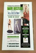 DAVE NESTLER BARBARA MOORE PLAYBOY PLAYMATE PEWTER SCULPTURE FIGURE - VERY RARE