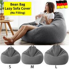 Sitzsack Sitzkissen Lounge Sessel Beanbag Indoor Outdoor 3 Größen ohne Füllung