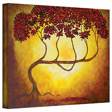 """Herb Dickinson """"Ethereal Tree I"""" Print of Painting on Wrapped Canvas"""